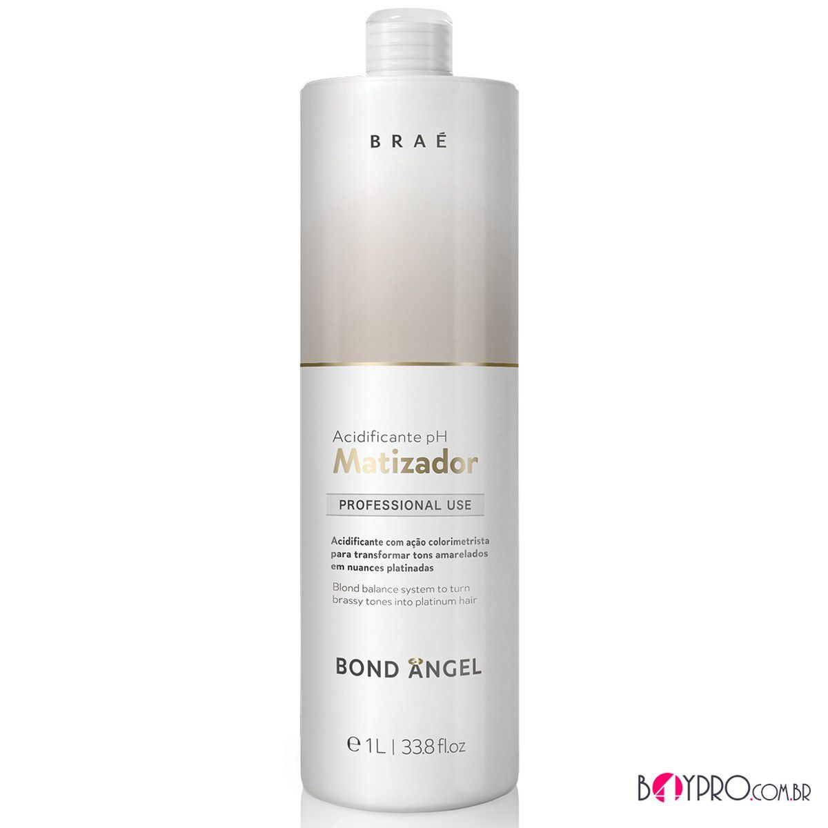 ACIDIFICANTE PH MATIZADOR BRAÉ BOND ANGEL 1L