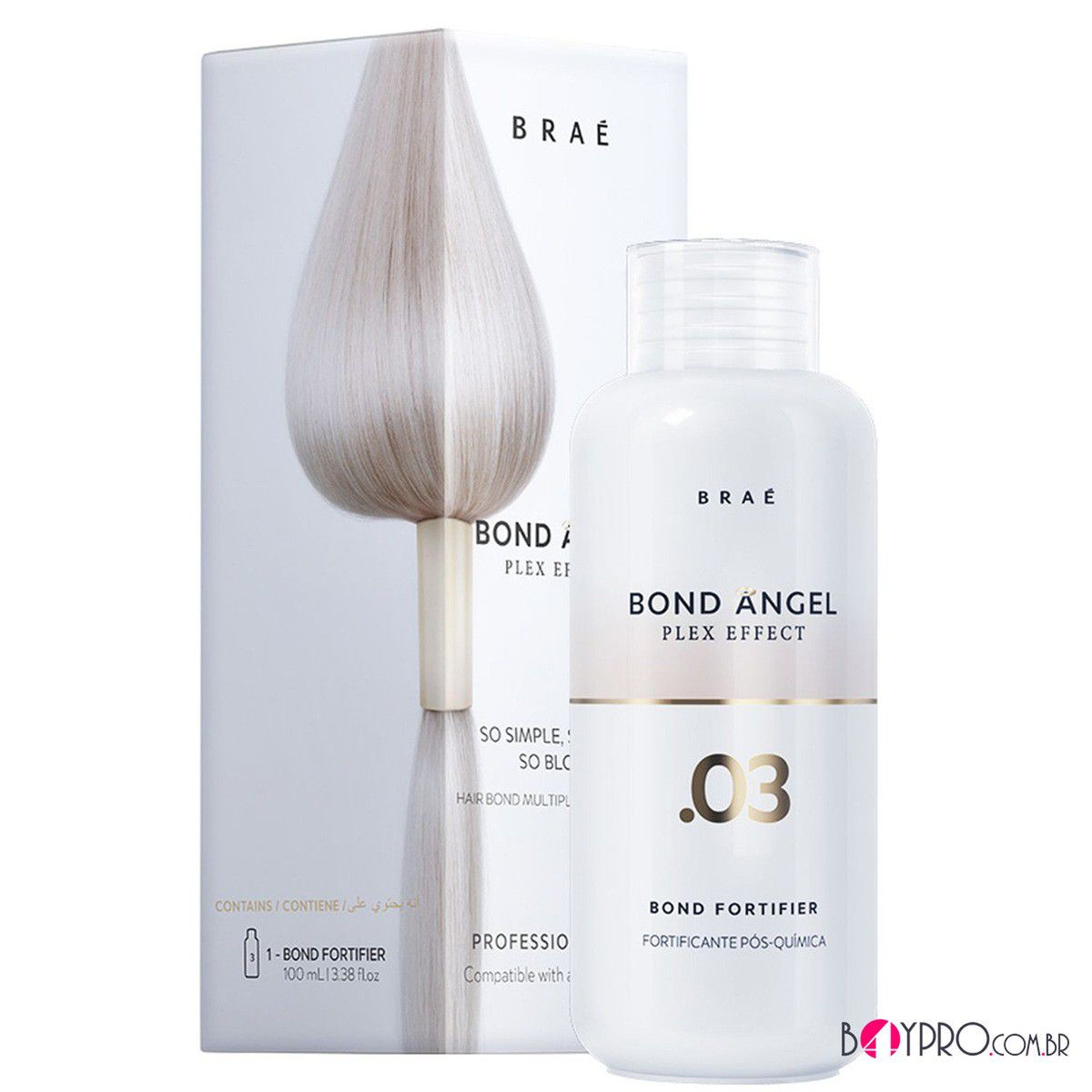BOND ANGEL BRAÉ PASSO 3 TRATAMENTO HOME CARE 100 ML