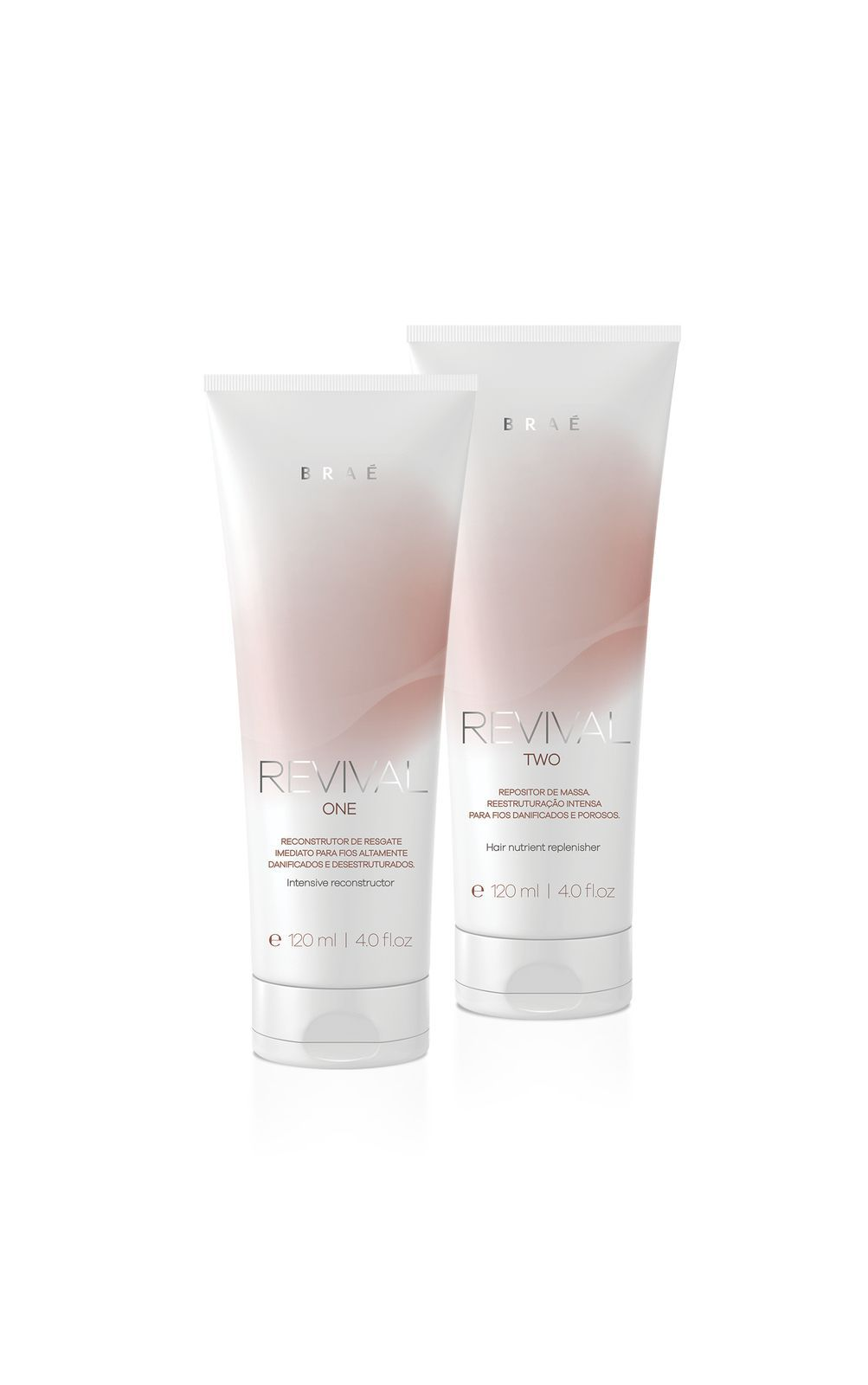 BRAÉ REVIVAL ONE E TWO KIT HOME CARE (2X120ML)