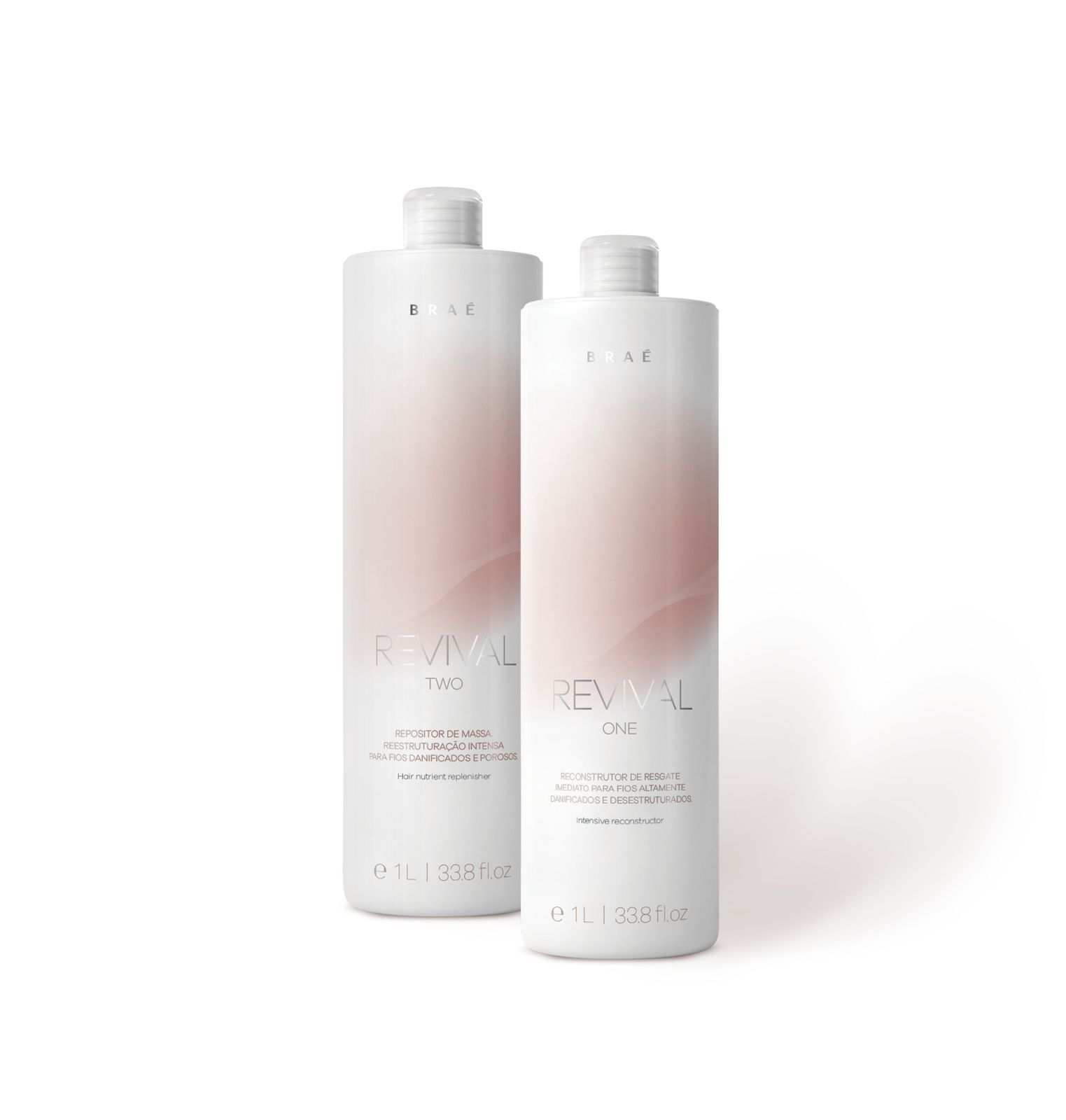 BRAÉ REVIVAL ONE E TWO KIT PROFISSIONAL (2X1L)