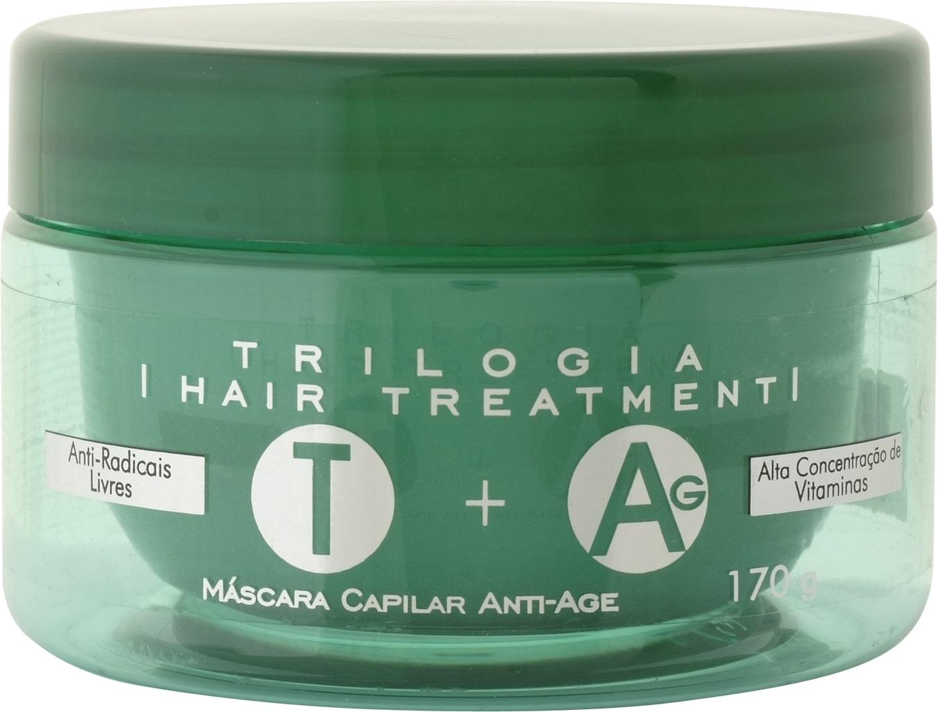 Mascara Cond Anti Age Trilogia - 170 g