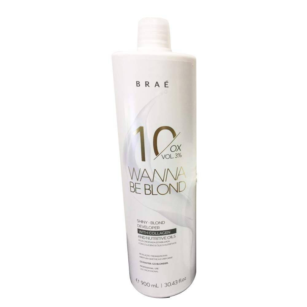 OX BRAÉ WANNA BE BLOND 10 vol 3% - 900 ML