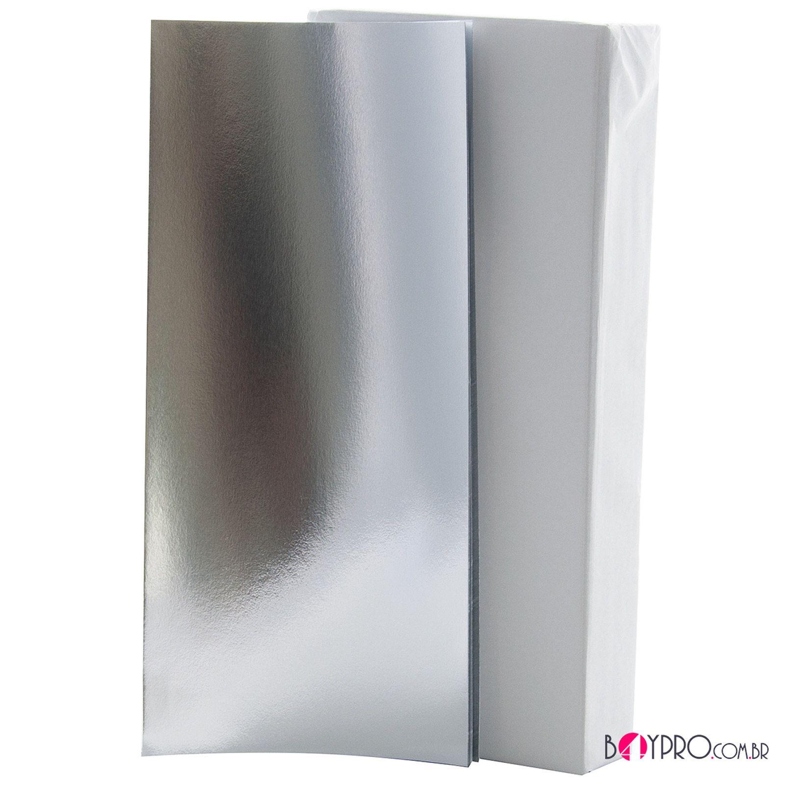 Papel De Mechas e Reflexo Laminado  Beauty4you 11,5cm x 25cm - pct com 1 Kg