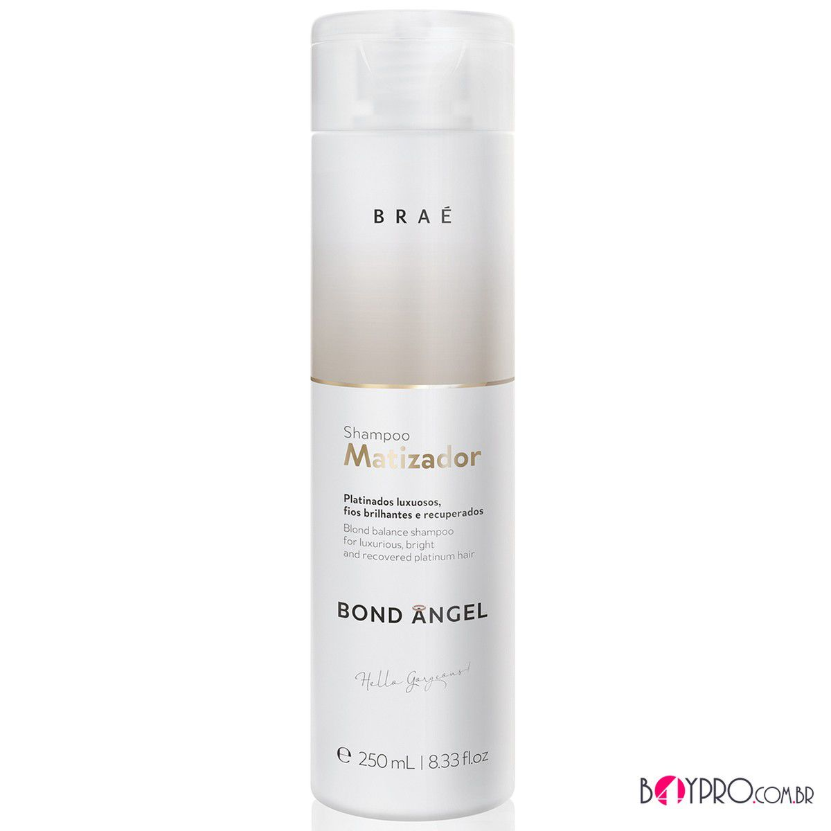SHAMPOO MATIZADOR BOND ANGEL BRAÉ 250ML
