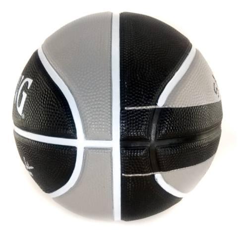 Bola de Basquete Spalding San Antonio Spurs NBA Preto/Cinza