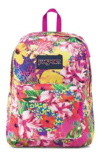 Mochila Jansport Superbreak Pink Florida