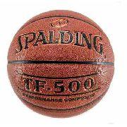 Bola de Basquete Spalding TF-500 Couro