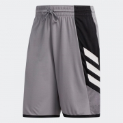 Bermuda Adidas Pro Madness Masculina Cinza e Preto