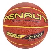 Bola De Basquete Penalty 7.8 Crossover X Laranja e Amarelo
