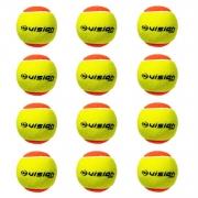 Bola Beach Tennis Vision Pro Kit c/ 12 Bolas