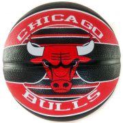 Bola de Basquete Spalding Chicago Bulls NBA Vermelho/Preto