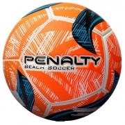 Bola De Futebol de Areia Penalty Fusion 2IX Laranja e Azul