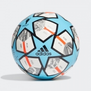 Bola De Futebol Campo Adidas 21 20TH Anniversary Club Finale Azul e Branco
