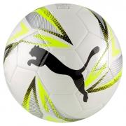 Bola De Futebol Campo Puma Play Big Cat Branco e Amarelo