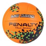 Bola De Penalty Vôlei MG 3600 Fusion VIII Laranja e Azul
