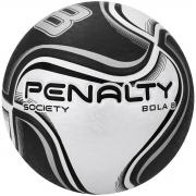 Bola De Society Penalty 8 X Branco e Preto