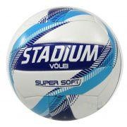 Bola Vôlei Stadium Super Soft X Branco e Azul