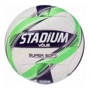 Bola Vôlei Stadium Super Soft X Branco e Verde