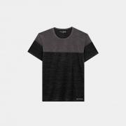 Camiseta Graphene Recorte Masculino Preto e Cinza