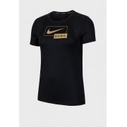 Camiseta Nike Icon Clash Feminina Preto