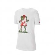 Camiseta Nike SportWear Infantil Branca