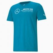 Camiseta Puma Mercedes Petrona Motorsport F1 AMG Azul Petróleo