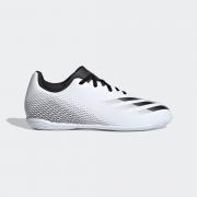 Chuteira Futsal Infantil Adidas X Ghosted.4 Branco e Preto