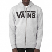 Moletom Vans Athletic Heather Masculino Mescla e Preto