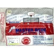 Rede Futebol de Campo Fio 4 mm Nylon Master Rede - 1 Par