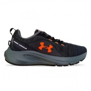 Tênis Under Armour Charged Surpass Masculino Preto e Laranja