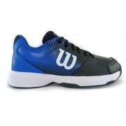 Tênis Wilson Ace Plus Masculino Preto e Azul