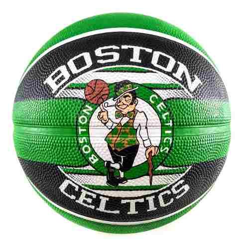Bola de Basquete Spalding Boston Celtics NBA - Verde/Preto