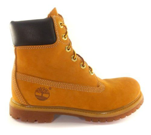 Bota Timberland Yellow Boot Premium Impermeável
