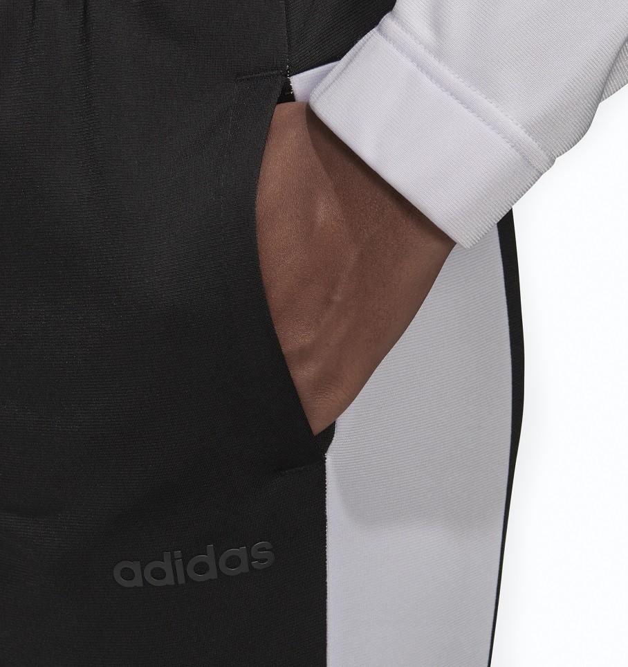 Agasalho Adidas Plain Tricot Feminino Lilás e Preto
