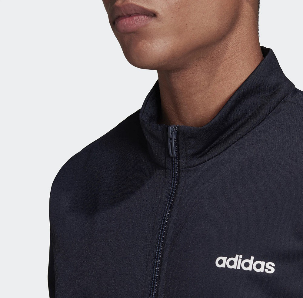 Agasalho Adidas MTS Lin Tric Masculino Marinho
