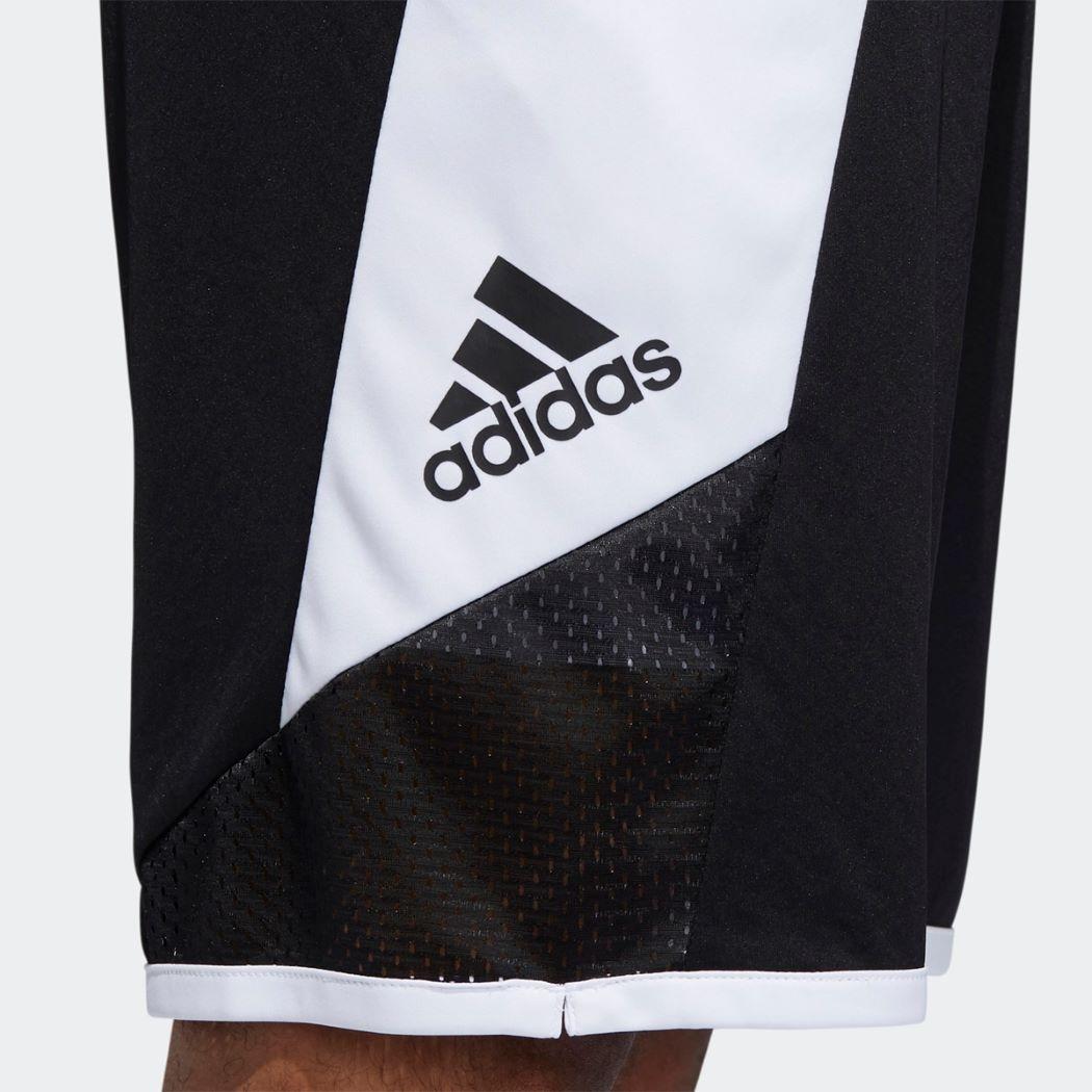 Bermuda Adidas Pro Madness Masculina Preto e Branco