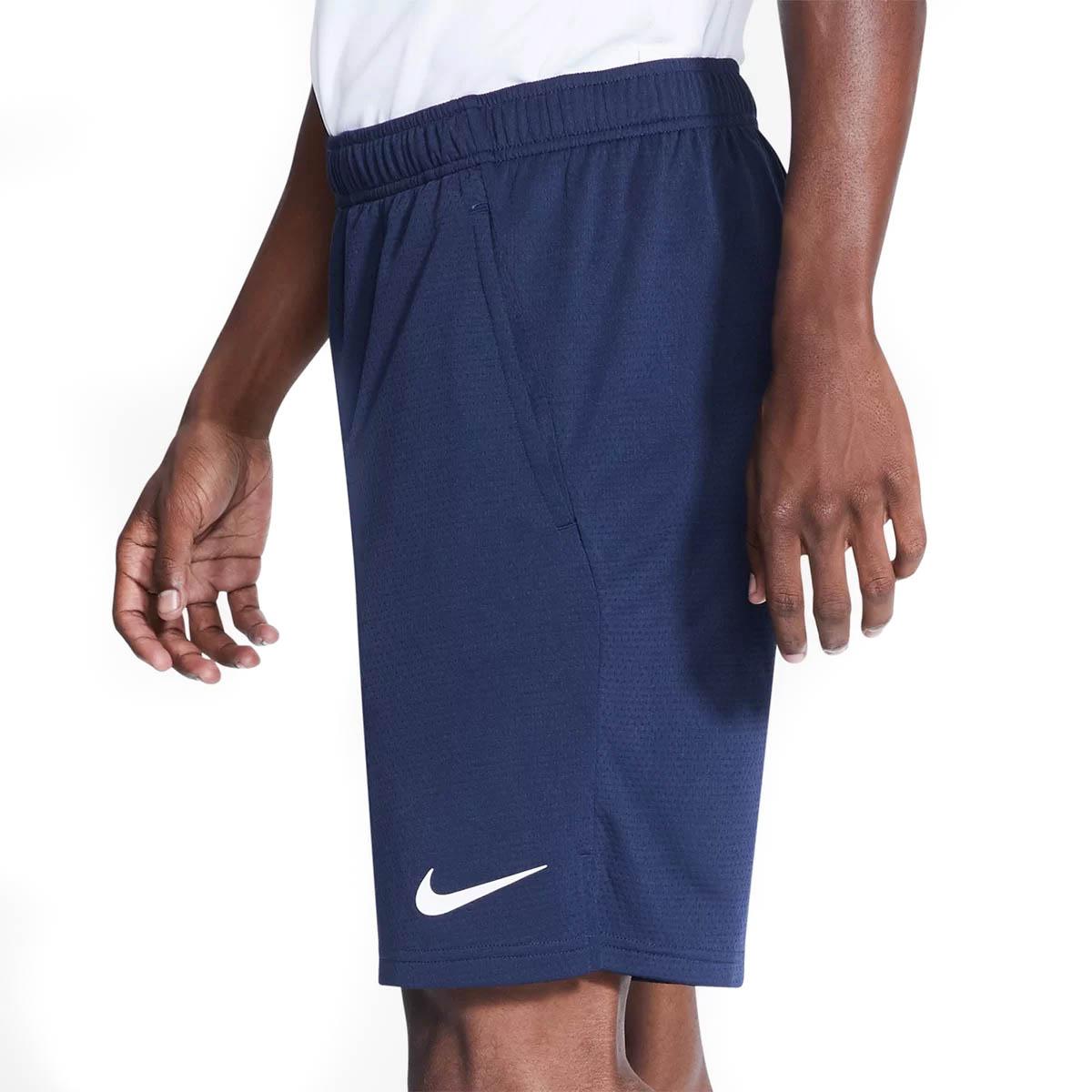 Bermuda Nike Monster Mesh 5.0 Masculina Marinho e Branco