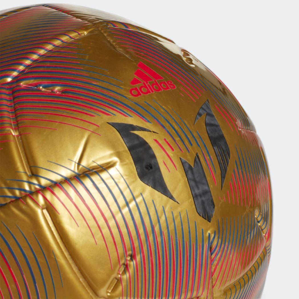 Bola De Futebol Campo Messi Club Dourada