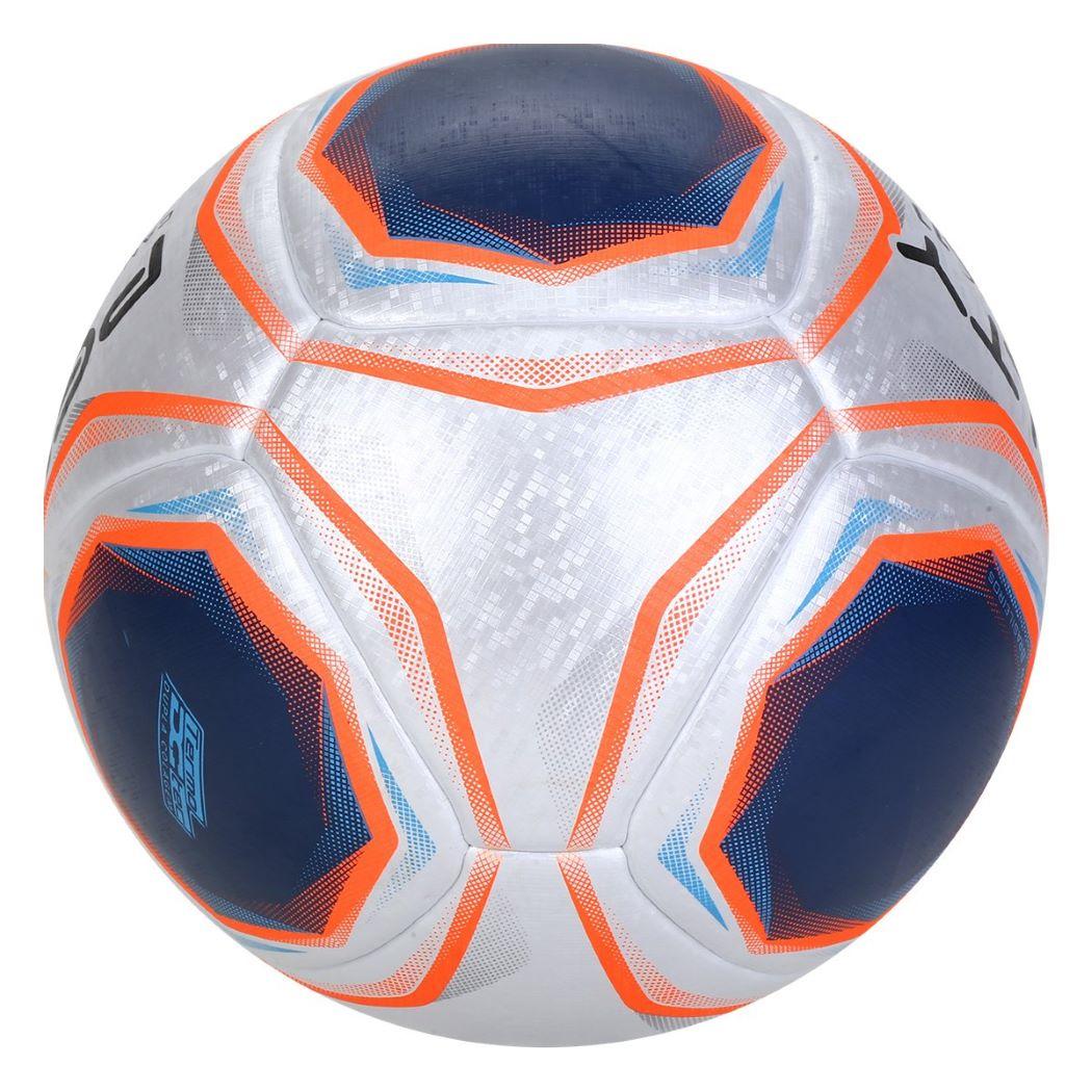Bola De Futebol Campo Penalty S11 R1 X Prata e Azul