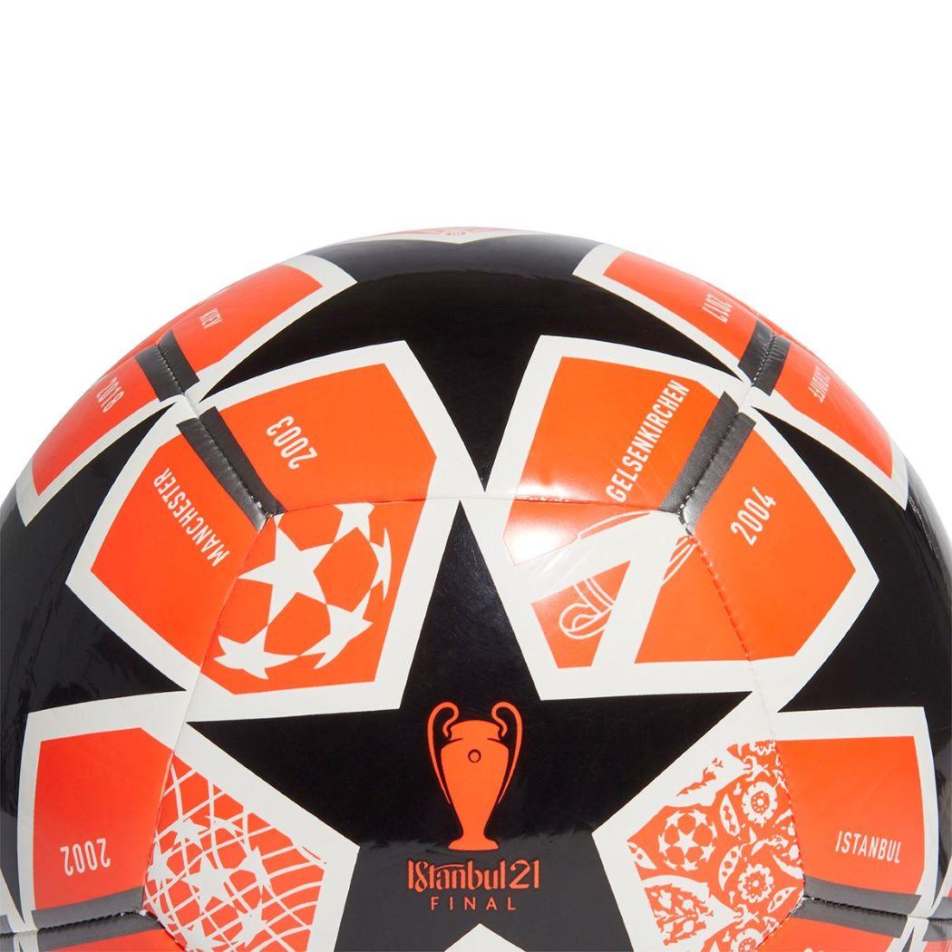 Bola De Futebol Campo Adidas UEFA Champions League Finale Stambul Club Laranja e Preto