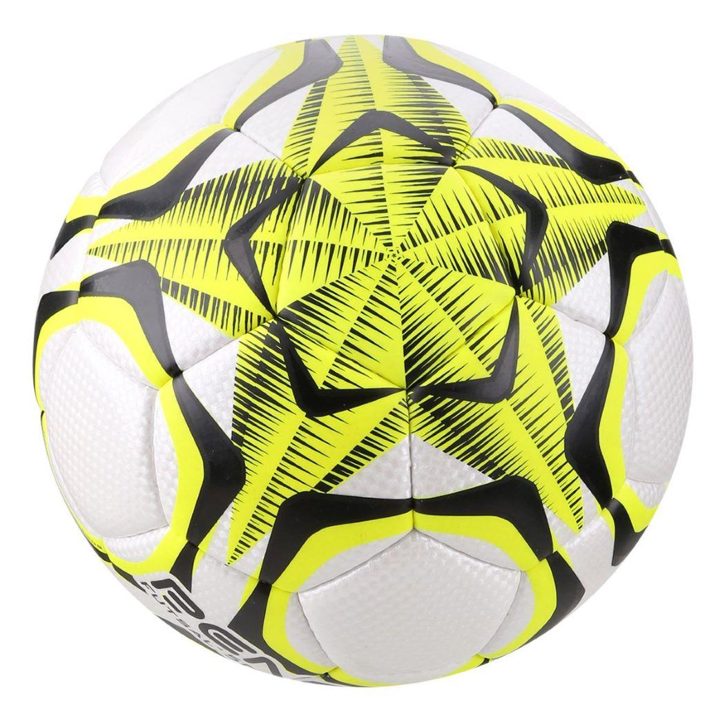 Bola De Futsal Penalty Brasil 70 500 R1 IX - Branco e Amarelo