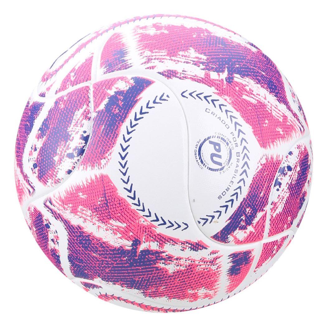 Bola De Futsal Penalty Max 500 Termotec LX Branco e Rosa