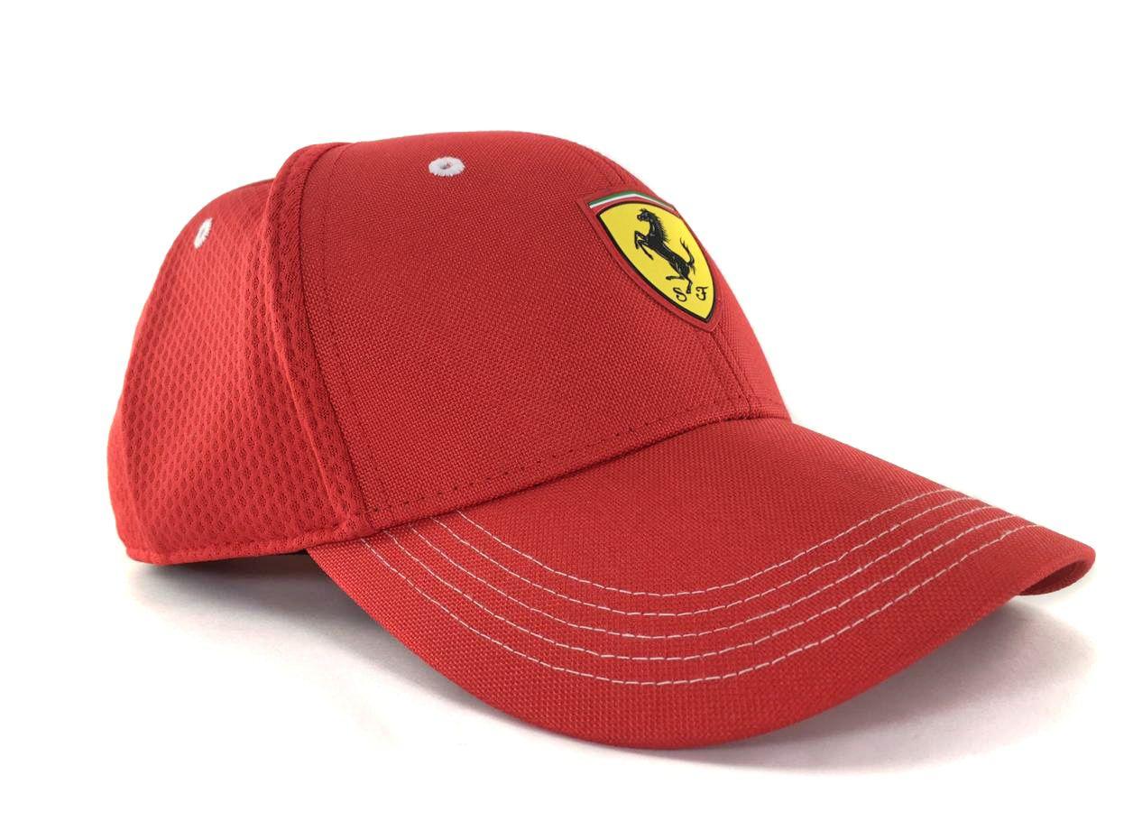 Boné Puma Ferrari Fanwear Vermelho