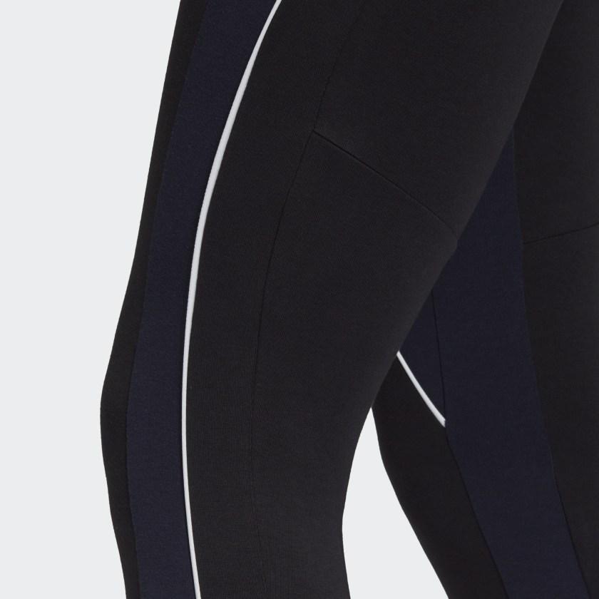 Calça Legging Adidas ColorBlock Tigh Preto