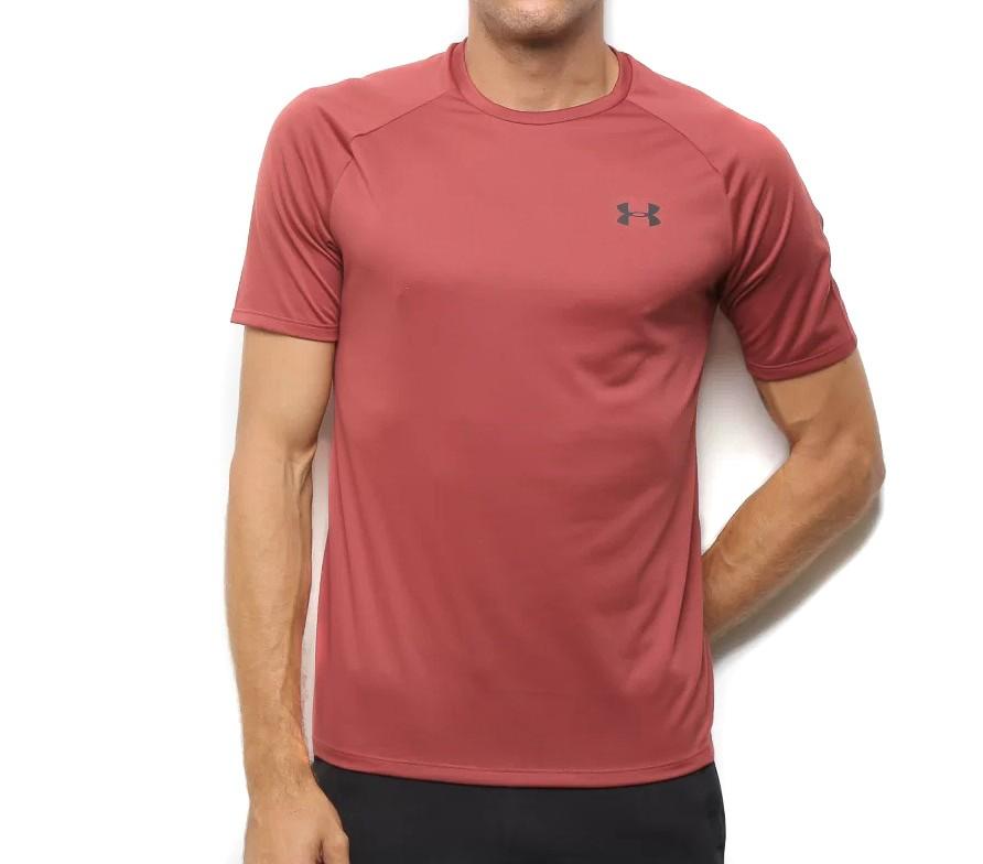 Camiseta Under Armour Tech 2.0 Masculina Vinho