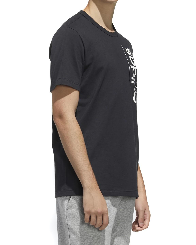 Camiseta Adidas BB T Masculina Preto e Branco