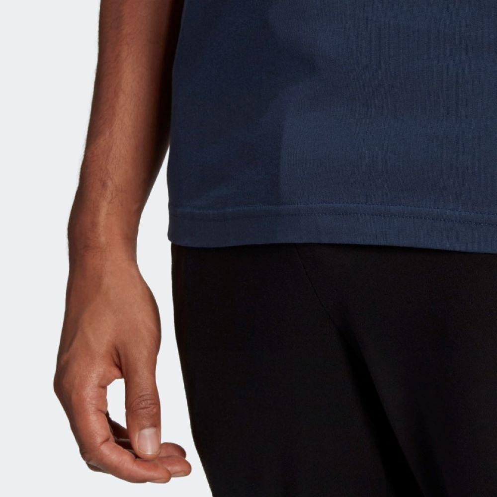 Camiseta Adidas Explore Nature Masculina Azul