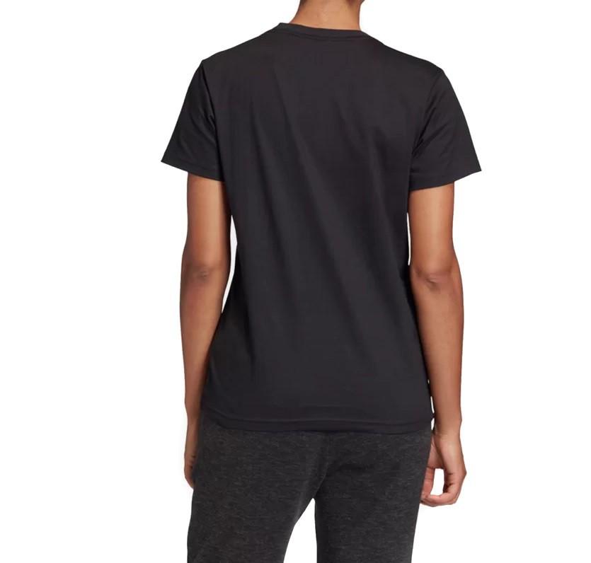 Camiseta Adidas Must Haves Badge Bosillu Feminina Preto