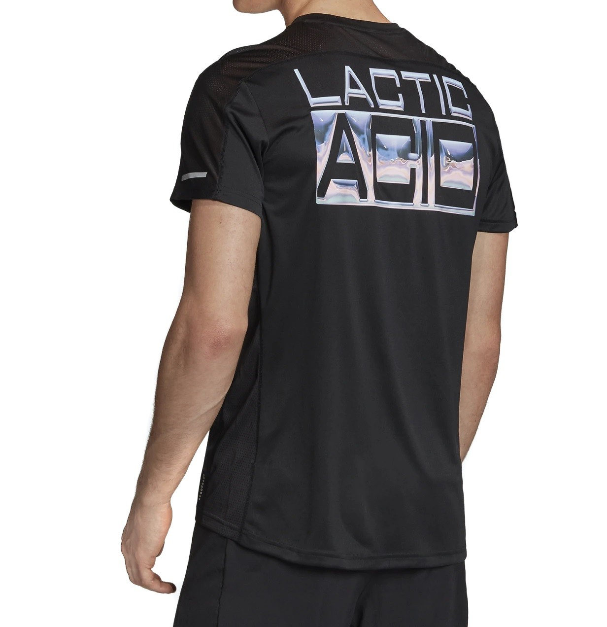Camiseta Adidas Own The Run Club Masculina Preto