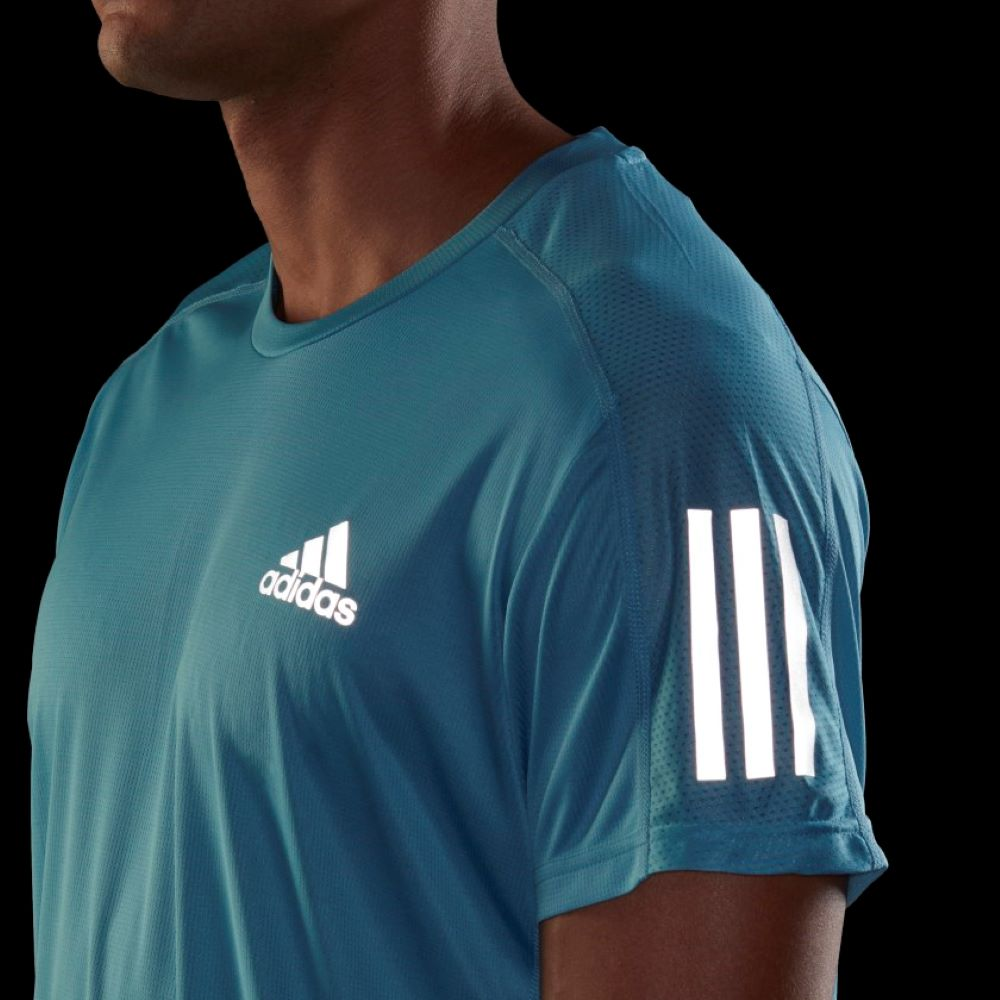 Camiseta Adidas Own The Run Masculina Azul